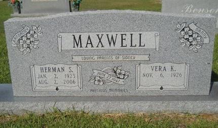 MAXWELL, HERMAN S - Webster County, Louisiana | HERMAN S MAXWELL - Louisiana Gravestone Photos