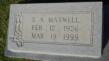 MAXWELL, S A - Webster County, Louisiana | S A MAXWELL - Louisiana Gravestone Photos