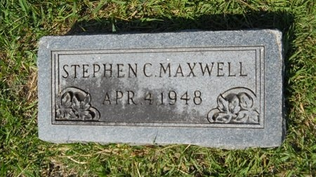 MAXWELL, STEPHEN C - Webster County, Louisiana | STEPHEN C MAXWELL - Louisiana Gravestone Photos