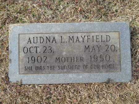 BARKER MAYFIELD, AUDNA L - Webster County, Louisiana | AUDNA L BARKER MAYFIELD - Louisiana Gravestone Photos