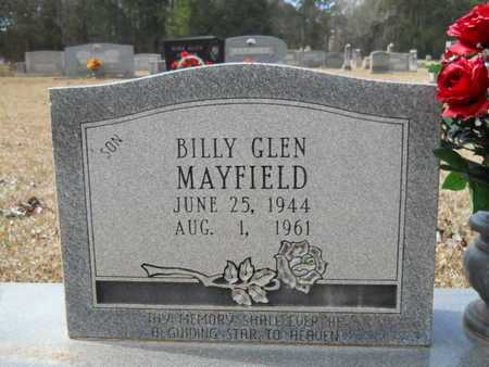 MAYFIELD, BILLY GLEN (CLOSE UP) - Webster County, Louisiana | BILLY GLEN (CLOSE UP) MAYFIELD - Louisiana Gravestone Photos