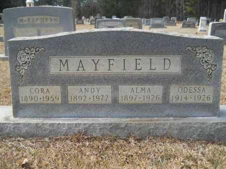 HAYNES MAYFIELD, ALMA - Webster County, Louisiana | ALMA HAYNES MAYFIELD - Louisiana Gravestone Photos