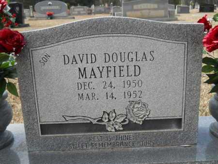 MAYFIELD, DAVID DOUGLAS (CLOSE UP) - Webster County, Louisiana | DAVID DOUGLAS (CLOSE UP) MAYFIELD - Louisiana Gravestone Photos