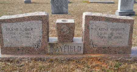 HUDSON MAYFIELD, ALINE - Webster County, Louisiana | ALINE HUDSON MAYFIELD - Louisiana Gravestone Photos