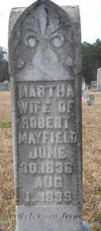 MAYFIELD, MARTHA ANN - Webster County, Louisiana | MARTHA ANN MAYFIELD - Louisiana Gravestone Photos