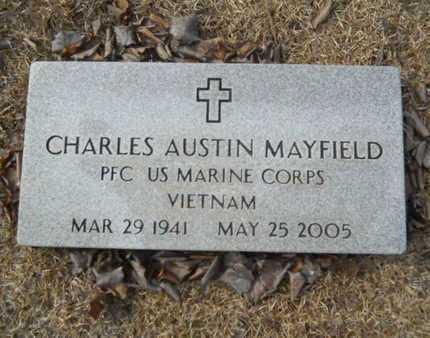 MAYFIELD, CHARLES AUSTIN (VETERAN VIET) - Webster County, Louisiana | CHARLES AUSTIN (VETERAN VIET) MAYFIELD - Louisiana Gravestone Photos