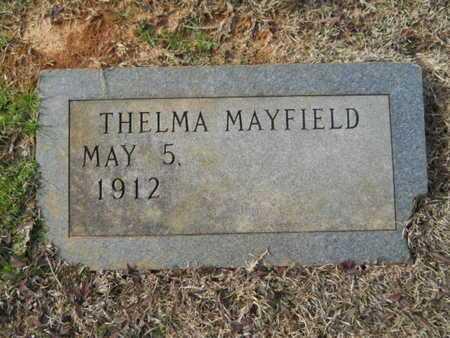 MAYFIELD, THELMA - Webster County, Louisiana | THELMA MAYFIELD - Louisiana Gravestone Photos