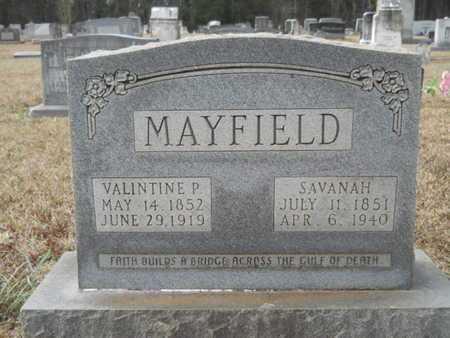 JONES MAYFIELD, SAVANAH MITCHELL - Webster County, Louisiana | SAVANAH MITCHELL JONES MAYFIELD - Louisiana Gravestone Photos