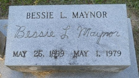 MAYNOR, BESSIE L - Webster County, Louisiana | BESSIE L MAYNOR - Louisiana Gravestone Photos