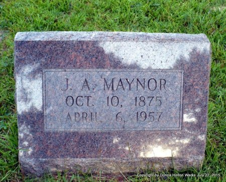MAYNOR, JOHN ALLEN - Webster County, Louisiana   JOHN ALLEN MAYNOR - Louisiana Gravestone Photos