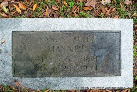 MAYNOR, NANCY ELIZABETH - Webster County, Louisiana   NANCY ELIZABETH MAYNOR - Louisiana Gravestone Photos