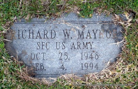 MAYNOR, RICHARD W  (VETERAN) - Webster County, Louisiana | RICHARD W  (VETERAN) MAYNOR - Louisiana Gravestone Photos