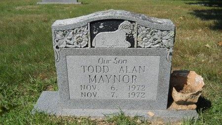 MAYNOR, TODD ALAN - Webster County, Louisiana   TODD ALAN MAYNOR - Louisiana Gravestone Photos