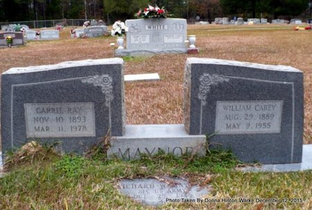 MAYNOR, CARRIE RAY - Webster County, Louisiana | CARRIE RAY MAYNOR - Louisiana Gravestone Photos