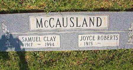 MCCAUSLAND, JOYCE - Webster County, Louisiana | JOYCE MCCAUSLAND - Louisiana Gravestone Photos