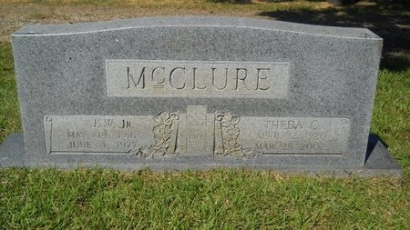 MCCLURE, THEDA RUTH - Webster County, Louisiana   THEDA RUTH MCCLURE - Louisiana Gravestone Photos