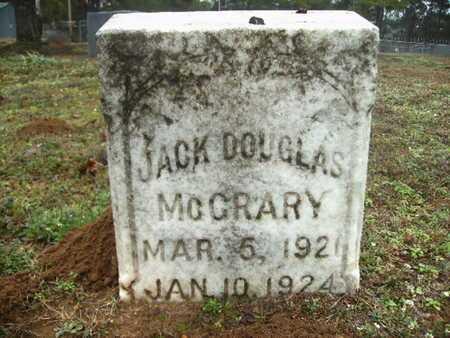 MCCRARY, JACK DOUGLAS - Webster County, Louisiana   JACK DOUGLAS MCCRARY - Louisiana Gravestone Photos