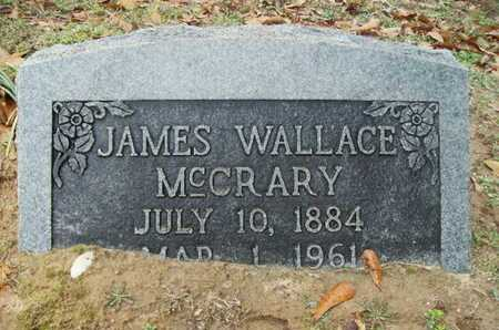 MCCRARY, JAMES WALLACE - Webster County, Louisiana | JAMES WALLACE MCCRARY - Louisiana Gravestone Photos