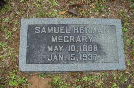 MCCRARY, SAMUEL HERMAN - Webster County, Louisiana | SAMUEL HERMAN MCCRARY - Louisiana Gravestone Photos