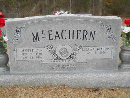MCEACHERN, ALBERT FULTON - Webster County, Louisiana | ALBERT FULTON MCEACHERN - Louisiana Gravestone Photos
