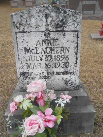 MCEACHERN, ANNIE - Webster County, Louisiana | ANNIE MCEACHERN - Louisiana Gravestone Photos