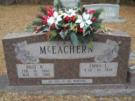 MCEACHERN, BILLY R - Webster County, Louisiana | BILLY R MCEACHERN - Louisiana Gravestone Photos