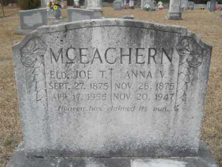 MCEACHERN, ANNA V - Webster County, Louisiana | ANNA V MCEACHERN - Louisiana Gravestone Photos