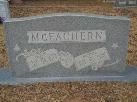 MCEACHERN, FANNIE - Webster County, Louisiana | FANNIE MCEACHERN - Louisiana Gravestone Photos