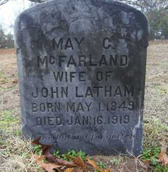 MCFARLAND, MAY C - Webster County, Louisiana | MAY C MCFARLAND - Louisiana Gravestone Photos