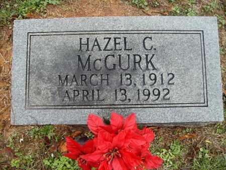 MCGURK, HAZEL C - Webster County, Louisiana | HAZEL C MCGURK - Louisiana Gravestone Photos