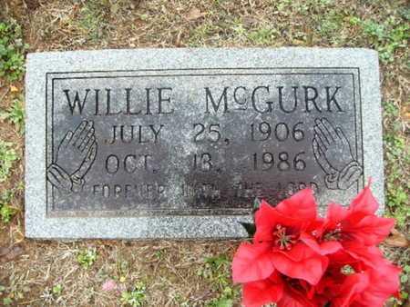 MCGURK, WILLIE - Webster County, Louisiana   WILLIE MCGURK - Louisiana Gravestone Photos