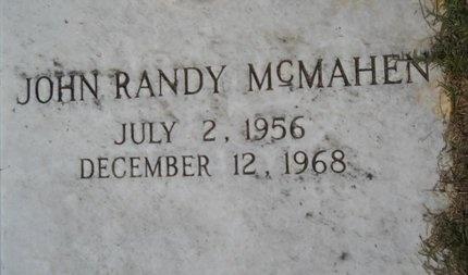 MCMAHEN, JOHN RANDY - Webster County, Louisiana | JOHN RANDY MCMAHEN - Louisiana Gravestone Photos
