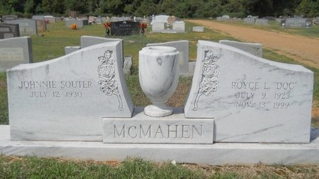 MCMAHEN, JOHNNIE (OBIT) - Webster County, Louisiana | JOHNNIE (OBIT) MCMAHEN - Louisiana Gravestone Photos