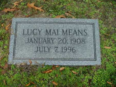MEANS, LUCY MAI - Webster County, Louisiana | LUCY MAI MEANS - Louisiana Gravestone Photos
