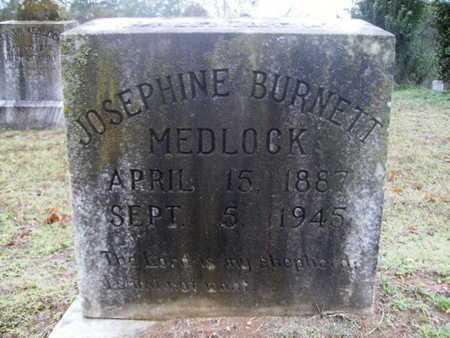 MEDLOCK, JOSEPHINE - Webster County, Louisiana | JOSEPHINE MEDLOCK - Louisiana Gravestone Photos