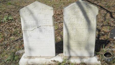 SLATTEN MERRETT, GEORGIA ANN - Webster County, Louisiana   GEORGIA ANN SLATTEN MERRETT - Louisiana Gravestone Photos