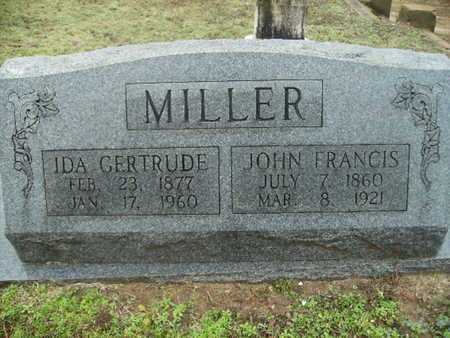 MILLER, IDA GERTRUDE - Webster County, Louisiana | IDA GERTRUDE MILLER - Louisiana Gravestone Photos