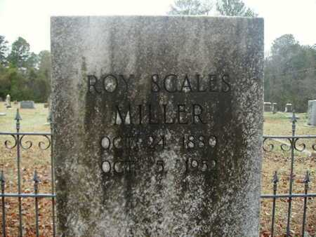 MILLER, ROY SCALES - Webster County, Louisiana | ROY SCALES MILLER - Louisiana Gravestone Photos
