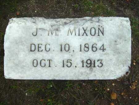 MIXON, JAMES M - Webster County, Louisiana | JAMES M MIXON - Louisiana Gravestone Photos