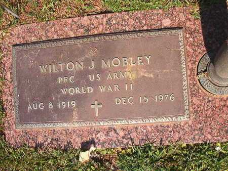 MOBLEY, WILTON J (VETERAN WWII) - Webster County, Louisiana   WILTON J (VETERAN WWII) MOBLEY - Louisiana Gravestone Photos