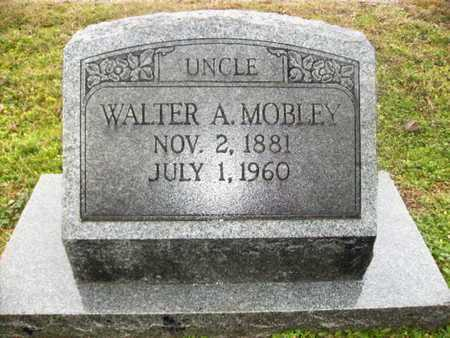 MOBLEY, WALTER A - Webster County, Louisiana | WALTER A MOBLEY - Louisiana Gravestone Photos
