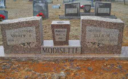MODISETTE, ANDREW J - Webster County, Louisiana | ANDREW J MODISETTE - Louisiana Gravestone Photos