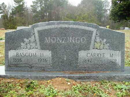MONZINGO, CARRYE M - Webster County, Louisiana | CARRYE M MONZINGO - Louisiana Gravestone Photos