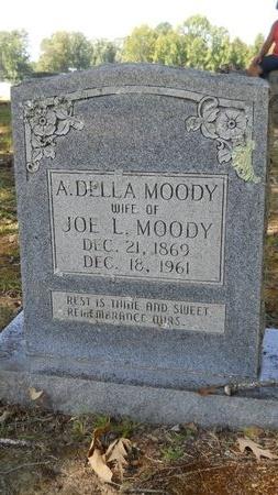MOODY, A DELLA - Webster County, Louisiana | A DELLA MOODY - Louisiana Gravestone Photos