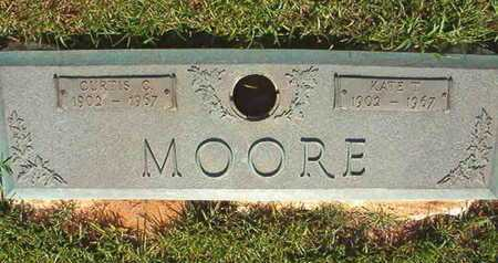 MOORE, KATE T - Webster County, Louisiana | KATE T MOORE - Louisiana Gravestone Photos