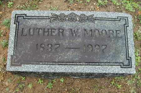 MOORE, LUTHER W - Webster County, Louisiana | LUTHER W MOORE - Louisiana Gravestone Photos