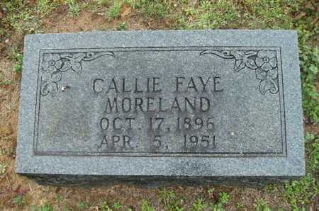 MORELAND, CALLIE FAYE - Webster County, Louisiana | CALLIE FAYE MORELAND - Louisiana Gravestone Photos