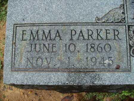 PARKER MORELAND, EMMA  (CLOSE UP) - Webster County, Louisiana | EMMA  (CLOSE UP) PARKER MORELAND - Louisiana Gravestone Photos