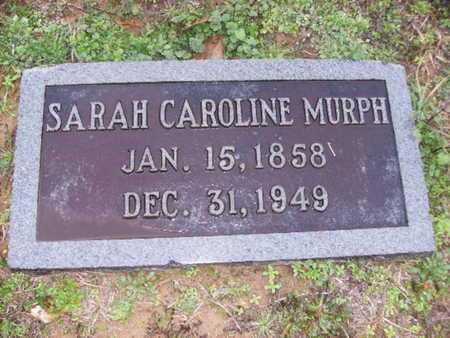 BRASSELL MURPH, SARAH CAROLINE - Webster County, Louisiana   SARAH CAROLINE BRASSELL MURPH - Louisiana Gravestone Photos