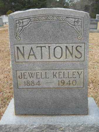 NATIONS, JEWELL - Webster County, Louisiana | JEWELL NATIONS - Louisiana Gravestone Photos
